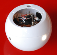 Squito prototype camera ball, US Patent 8237787